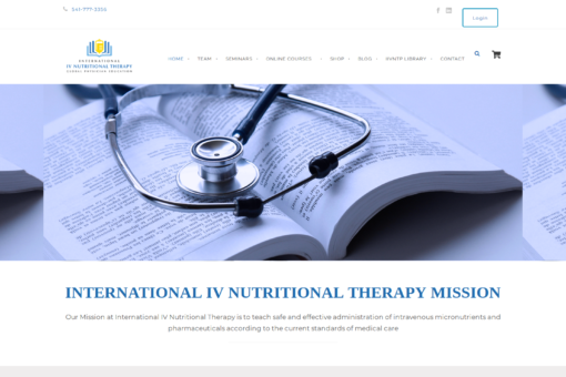 International IV Nutrional Therapy for Professionals