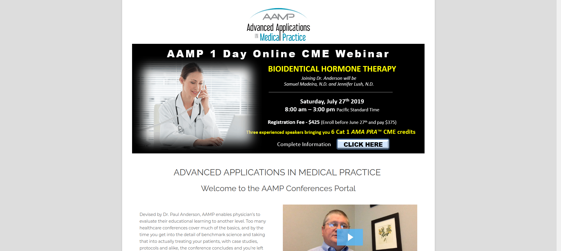 Advanced Applications in Medical Practice